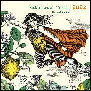 Cover-Bild zu GreenLine Fabulous World of PABUKU 2022 - Wand-Kalender - Broschüren-Kalender - 30x30 - 30x60 geöffnet von teNeues Calendars