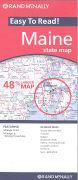 Cover-Bild zu Maine state map