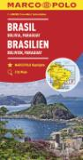 Cover-Bild zu Brasilien, Bolivien, Paraguay, Uruguay. 1:4'000'000