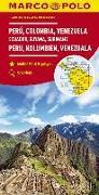 Cover-Bild zu Peru, Kolumbien, Venezuela. 1:4'000'000
