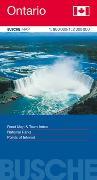 Cover-Bild zu Canada Ontario. 1:800'000 / 1:2'000'000