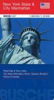 Cover-Bild zu New York State & City Manhatten. 1:800'000 / 1:25'000