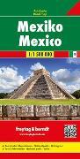Cover-Bild zu Mexiko, Autokarte 1:1.500.000. 1:1'500'000
