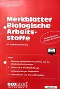 Cover-Bild zu 62. Ergänzungslieferung - Merkblätter Biologische Arbeitsstoffe