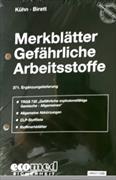 Cover-Bild zu 371. Ergänzungslieferung - Merkblätter gefährliche Arbeitsstoffe