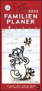 Cover-Bild zu Simons Katze Familienplaner Kalender 2021 von Tofield, Simon