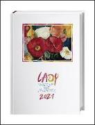 Cover-Bild zu Lady Tagebuch A5 Kalender 2021
