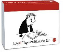 Cover-Bild zu Loriot Tagesabreißkalender Kalender 2021 von Loriot