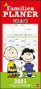Cover-Bild zu Peanuts Familienplaner Kalender 2021