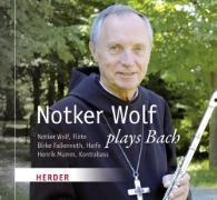 Cover-Bild zu Notker Wolf plays Bach