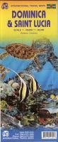 Cover-Bild zu Dominica & Saint Lucia. 1:50'000 / 1:40'000