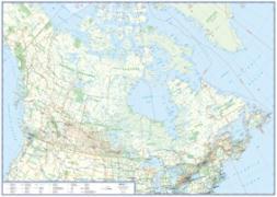 Cover-Bild zu Planokarte Canada. 1:6'000'000