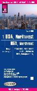 Cover-Bild zu USA 01, Nordwest - Washington und Oregon. 1:750'000