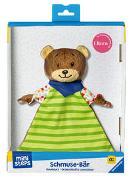 Cover-Bild zu Ravensburger ministeps 4155 Schmuse-Bär 4155, Kuscheltier und Schmusetuch mit Rassel, Baby Spielzeug ab 0 Monate