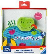 Cover-Bild zu Ravensburger ministeps 4156 Knister-Frosch, Schmusetuch mit Beißring und Knister-Geräusch, Baby Spielzeug ab 0 Monate