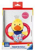 Cover-Bild zu Ravensburger ministeps 4160 Rassel-Entchen, Babyrassel, Greifling mit Beißring, Baby Spielzeug ab 3 Monate