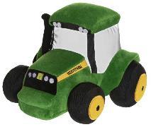 Cover-Bild zu Plüsch Traktor grün
