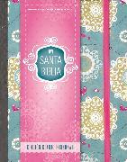 Cover-Bild zu Santa Biblia NVI, edición diario personal - Floral