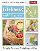Cover-Bild zu Lifehacks - Nachhaltig leben Kalender 2022 von Artel, Ann Christin