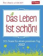 Cover-Bild zu Das Leben ist schön! Kalender 2022 von Artel, Ann Christin