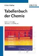 Cover-Bild zu Tabellenbuch der Chemie von Wächter, Michael