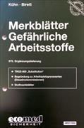 Cover-Bild zu 370. Ergänzungslieferung - Merkblätter gefährliche Arbeitsstoffe
