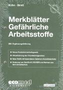 Cover-Bild zu 265. Ergänzungslieferung - Merkblätter gefährliche Arbeitsstoffe
