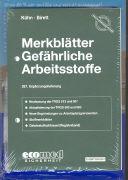 Cover-Bild zu 267. Ergänzungslieferung - Merkblätter gefährliche Arbeitsstoffe