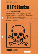 Cover-Bild zu 137. Ergänzungslieferung - Giftliste
