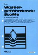 Cover-Bild zu 91. Ergänzungslieferung - Wassergefährdende Stoffe