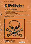 Cover-Bild zu 138. Ergänzungslieferung - Giftliste