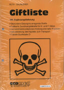Cover-Bild zu 139. Ergänzungslieferung - Giftliste