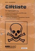 Cover-Bild zu 141. Ergänzungslieferung - Giftliste