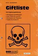 Cover-Bild zu 143. Ergänzungslieferung - Giftliste
