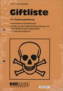 Cover-Bild zu 144. Ergänzungslieferung - Giftliste