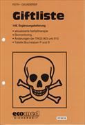 Cover-Bild zu 146. Ergänzungslieferung - Giftliste