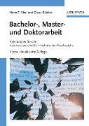 Cover-Bild zu Bachelor-, Master- und Doktorarbeit von Ebel, Hans Friedrich