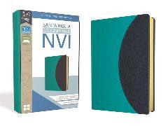 Cover-Bild zu Santa Biblia NVI, Ultrafina, Aqua/Gris