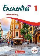 Cover-Bild zu Encuentros Hoy 1. Schülerbuch - Lehrerfassung