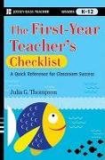 Cover-Bild zu Thompson, Julia G.: The First-Year Teacher's Checklist