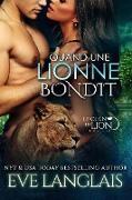 Cover-Bild zu Quand une Lionne Bondit (Le Clan du Lion, #6) (eBook) von Langlais, Eve