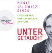 Cover-Bild zu Untergetaucht von Jalowicz Simon, Marie