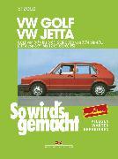 Cover-Bild zu Etzold, Rüdiger: VW Golf 9/74 bis 8/83, Scirocco von 3/74 bis 4/81, Jetta von 8/79 bis 12/83 (eBook)