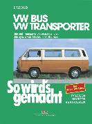 Cover-Bild zu Etzold, Rüdiger: VW Bus und Transporter von 10/82 bis 12/90 (eBook)