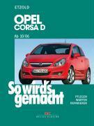 Cover-Bild zu Etzold, Alfred: Opel Corsa D 10/06-12/14