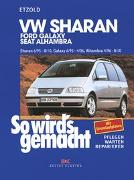 Cover-Bild zu Etzold, Hans-Rüdiger: VW Sharan / Ford Galaxy / Seat Alhambra