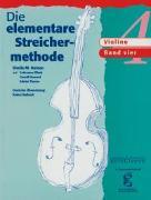 Cover-Bild zu Die elementare Streichermethode von Nelson, Sheila Mary (Komponist)