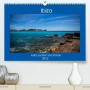 Cover-Bild zu Wolff, Alexander: Ibiza Küste, Buchten und Strände (Premium, hochwertiger DIN A2 Wandkalender 2022, Kunstdruck in Hochglanz)
