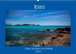 Cover-Bild zu Wolff, Alexander: Ibiza Küste, Buchten und Strände (Wandkalender 2022 DIN A2 quer)