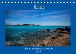Cover-Bild zu Wolff, Alexander: Ibiza Küste, Buchten und Strände (Tischkalender 2022 DIN A5 quer)